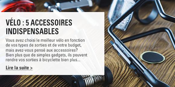 Vélo : 5 accessoires indispensables