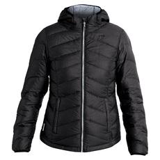 Emeline - Manteau à capuchon en duvet pour femme