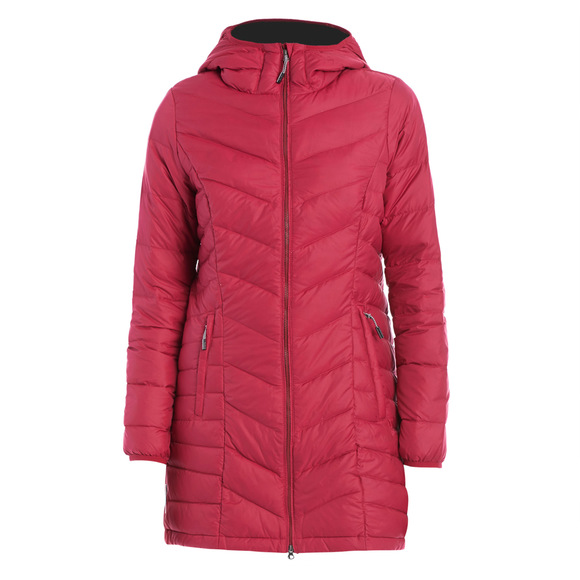 Claudia - Women's Down Hooded Jacket