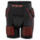 QLT Sr - Senior Ball hockey Padded Shorts  - 0