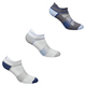 Quick Lyte No Show - Women's Cushioned Ankle Socks (pack of 3)    - 0