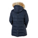 Serena - Women's Down Hooded Jacket    - 1