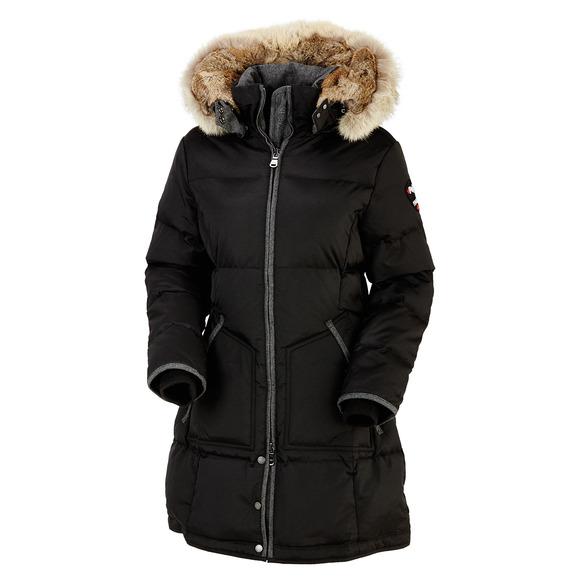 Chloe - Manteau à capuchon en duvet pour femme