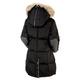 Chloe - Manteau à capuchon en duvet pour femme      - 1