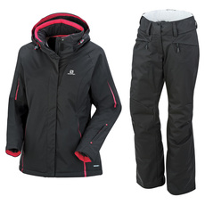 Rise - Women's Winter Pants And Jacket