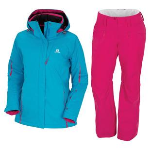 Rise - Manteau et pantalon d'hiver pour femme