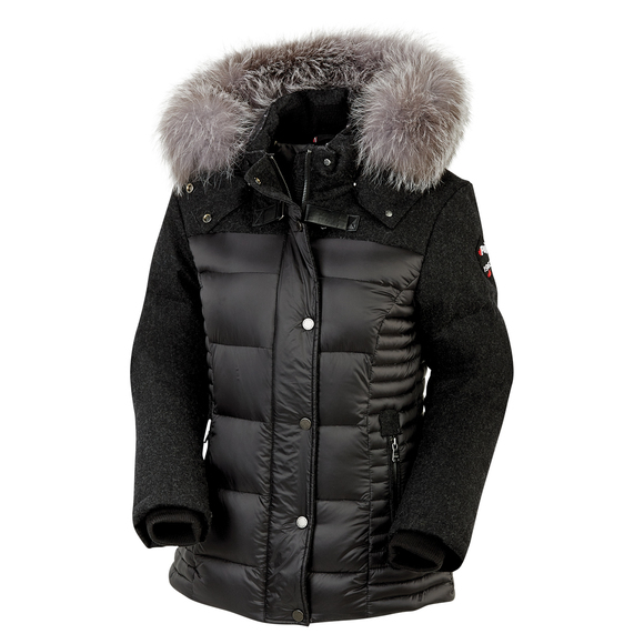 Harper - Women's Down Hooded Jacket