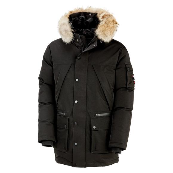 Benny - Manteau à capuchon en duvet pour homme