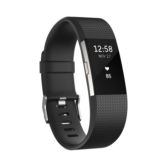 Charge 2 (Small) -Activity and sleep tracker with wrist-based heart rate sensor