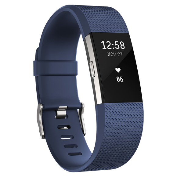 Charge 2 (Large) - Activity and sleep tracker with wrist-based heart rate sensor