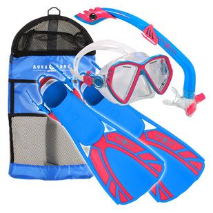 Regal Jr/Piper/Tulum (Medium) - Junior Mask Snorkel and Fins