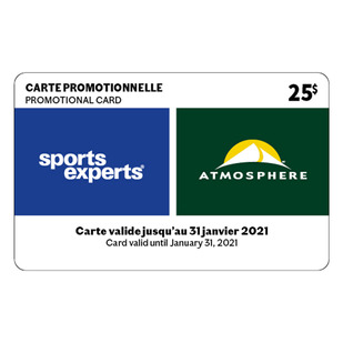 Spend and Get Promotion Card 2020