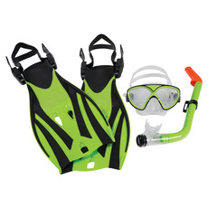 Montego Bay Super Kit Jr - Masque - tuba et palmes pour junior