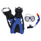 Montego Bay Super Kit Sr - Adult Mask, Snorkel and Fins  - 0