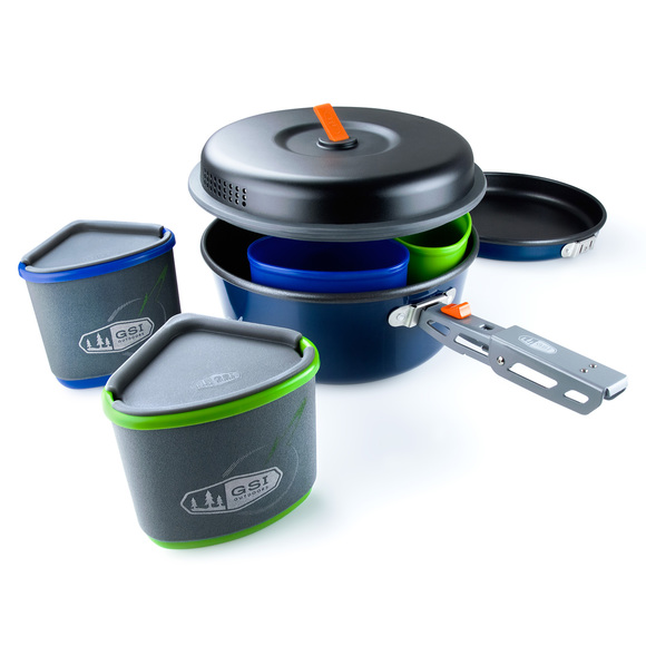 Bugaboo Camper - 11-piece Cooking Set For 2 people