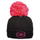Cuffed Pom - Women's Tuque - Montreal Canadiens  - 0