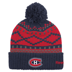 Cuffed Pom - Adult's Tuque - Montreal Canadiens