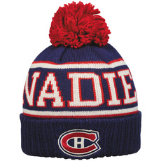 Team Banner - Adult's Tuque - Montreal Canadiens