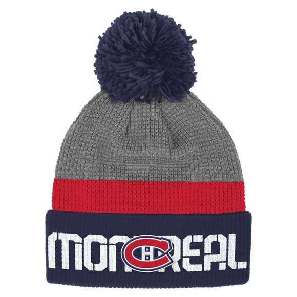 Player Cuffed Pom - Adult's Tuque - Montreal Canadiens