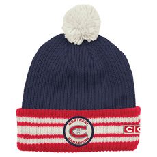Cuffed Watch Pom - Adult's Tuque - Montreal Canadiens