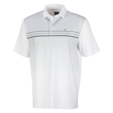Engineered Stripe Print - Polo de golf pour homme