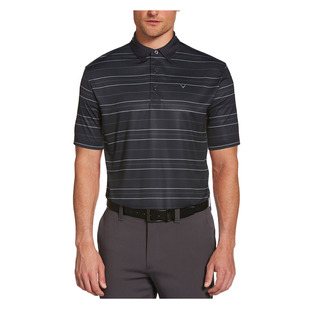 Printed Refined Stripe - Polo de golf pour homme
