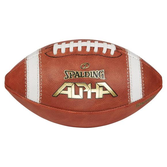 Alpha Leather - Ballon de football pour adulte