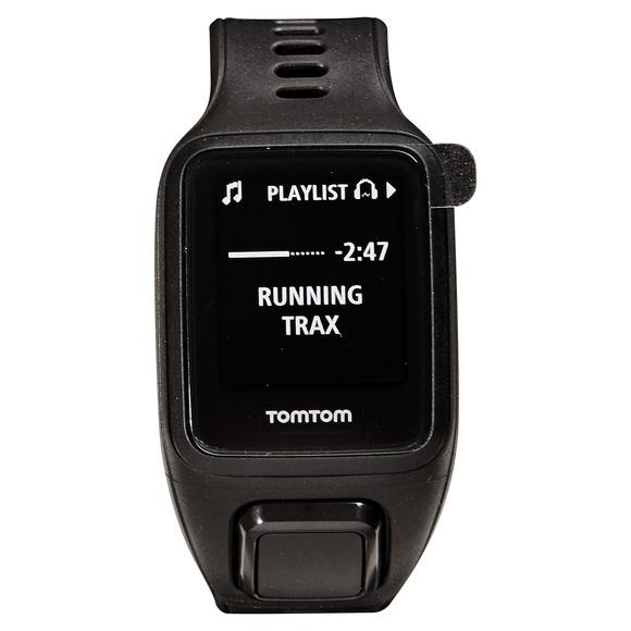 Spark 3 Cardio + Music GPS (grand) - Montre d'entraînement avec capteur de fréquence cardiaque au poignet