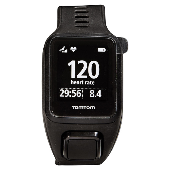 Spark 3 Cardio GPS (grand) - Montre d'entraînement avec capteur de fréquence cardiaque au poignet