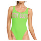 80's The Look - Women's One-Piece Swimsuit  - 0