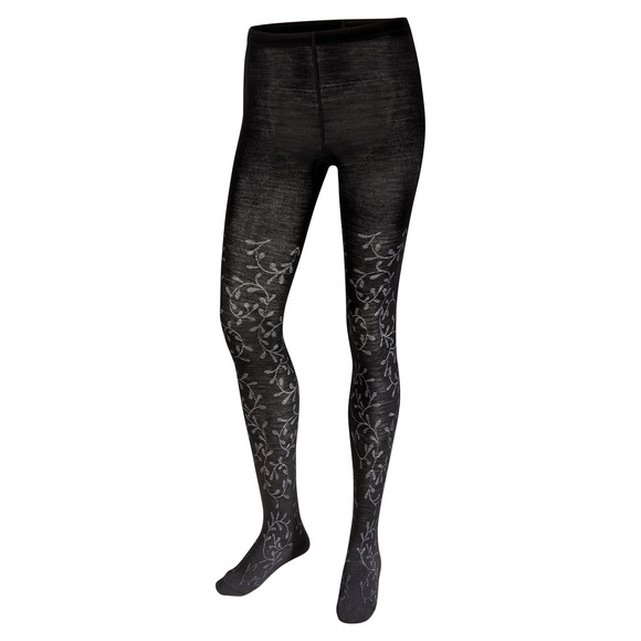 Floral Scrolls - Women's Tights