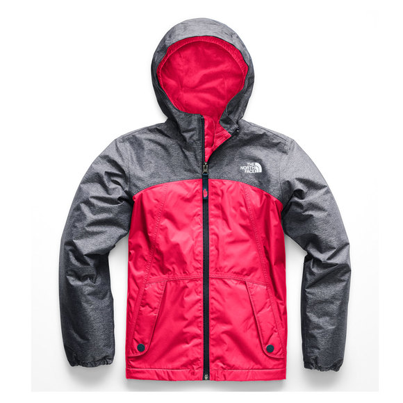 e08839e5d THE NORTH FACE Warm Storm Jr - Girls' Hooded Rain Jacket | Sports ...
