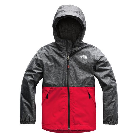 764e66f67 THE NORTH FACE Warm Storm Jr - Boys' Hooded Rain Jacket