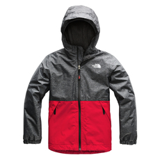 Warm Storm Jr - Boys' Hooded Rain Jacket