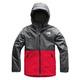 Warm Storm Jr - Boys' Hooded Rain Jacket  - 0