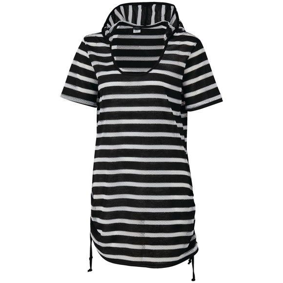 Kelly's Cove - Women's Hooded Cover-Up Dress