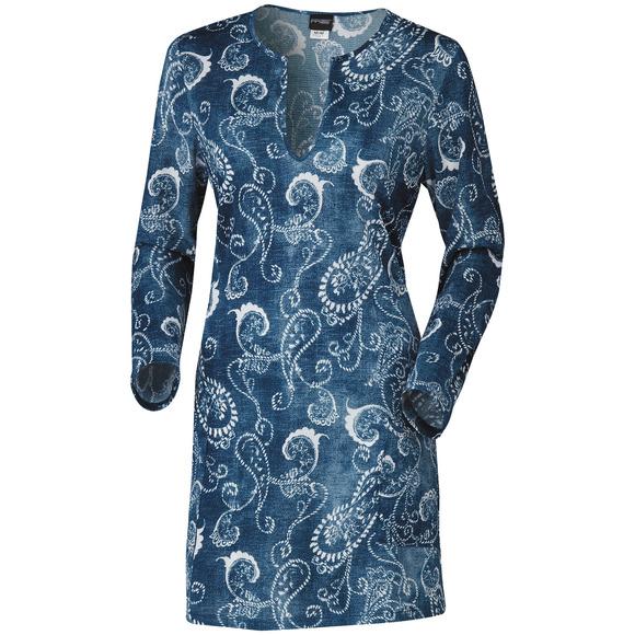 Denim Delight - Women's Cover-Up Dress