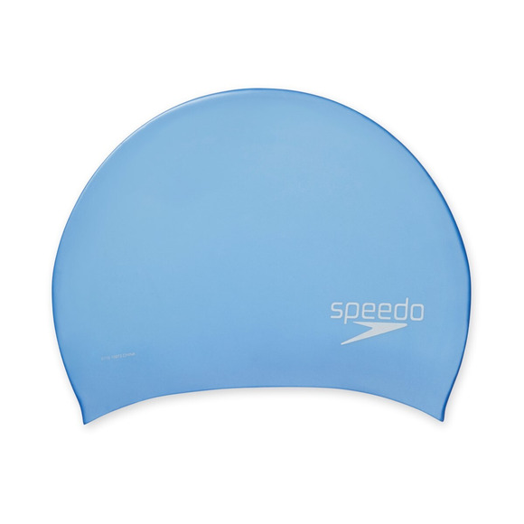 Silicone Long Hair - Adult's Swimming Cap