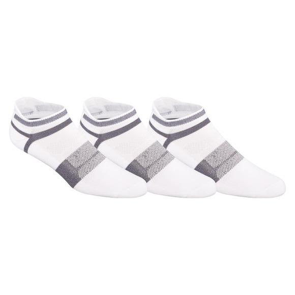 Quick Lyte No Show - Socquettes coussinées pour homme (paquet de 3)