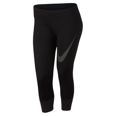 Power Essential (Plus Size) - Women's 3/4 Running Tights (Plus Size)