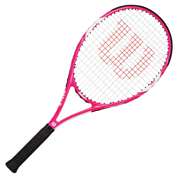 wilson envy pink 103 women 39 s tennis racquet sports experts. Black Bedroom Furniture Sets. Home Design Ideas