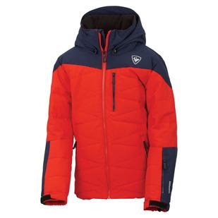 Polydown - Manteau à capuchon pour garçon