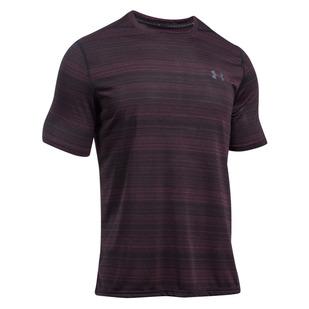 Threadborne Black Twist - T-shirt d'entraînement pour homme