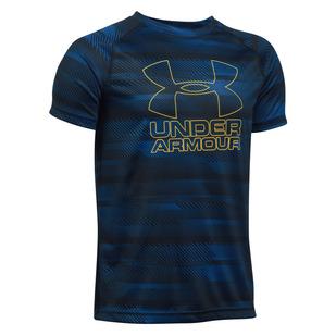 Big Logo Hybrid Jr - Boys' Training T-Shirt