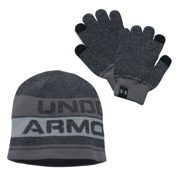 Combo 2.0 Jr - Boys' Beanie and Gloves