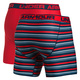 O Series Novelty - Men's Fitted Boxer Shorts (Pack of 2)  - 1