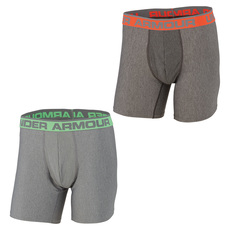 O Series Novelty - Men's Fitted Boxer Shorts (Pack of 2)