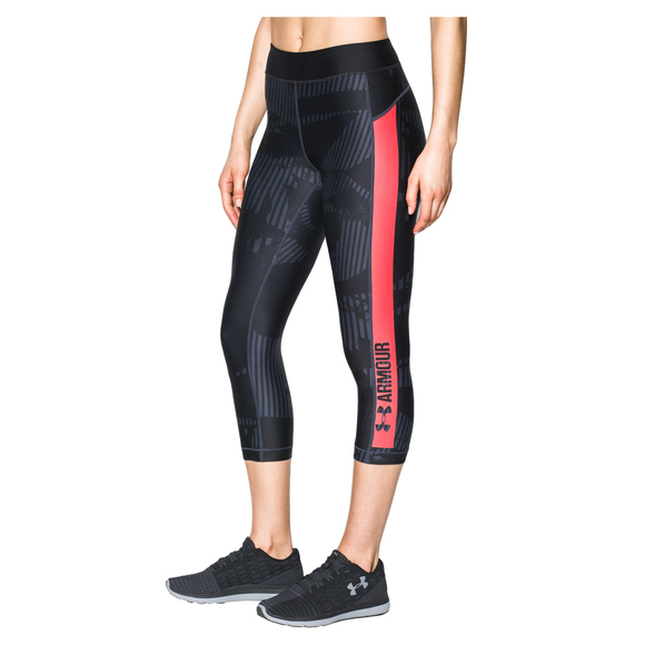 Printed Graphic - Women's Compression Capri Pants