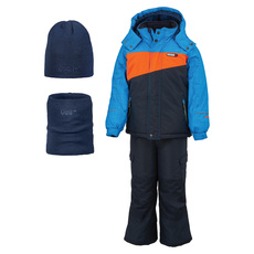 GWB3304B - Kids' Insulated Snowsuit