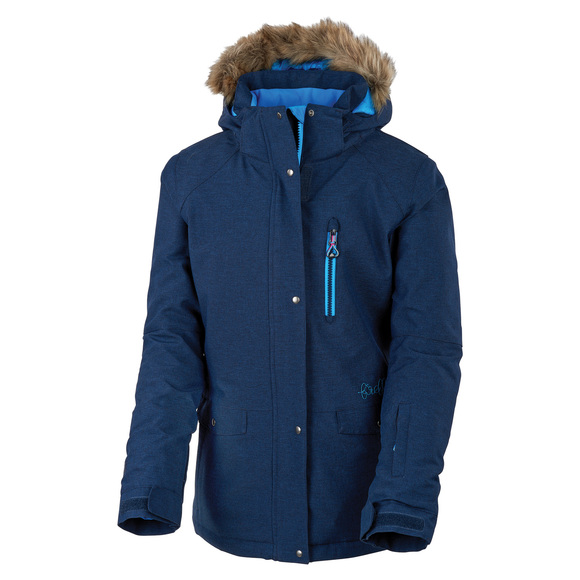 Tianna Jr - Girls' Insulated Hooded Jacket